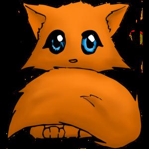 Cut anime cat