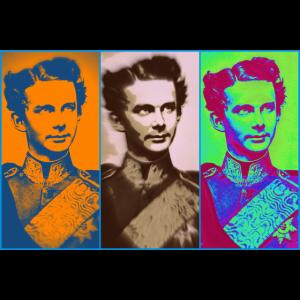 Ludwig II 3 times
