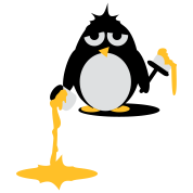 Penguin  painting - Do it yourself
