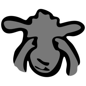 Augen zu Schaf