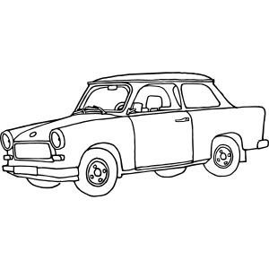 Trabi, Trabant, Kleinwagen der DDR