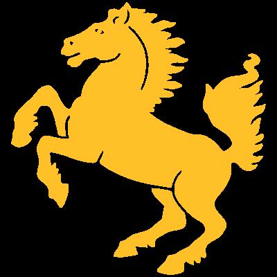 Stuttgart Wappen Pferd  - Das Wappen von Stuttgart für alle Stuttgarter, die ihre Stadt lieben ... - emblem,Wappen,T-Shirt,Städte-Shirt,Stuttgart-Shirt,Stuttgart,Shirt,Pferd,Kreis
