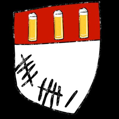 Köln - t-shirt mit Kölner Wappen als Bierdeckel. - Wappen,Stadt Köln,Kölsche Jung,Kölsch,Kölner Wappen,Kölner Dom,Kölner,Köln am Rhein,Kölle,Colonia,Bierdeckel