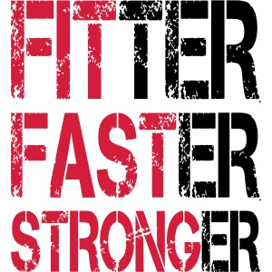 Fitter, Faster, Stronger - Bodybuilding, Fitness