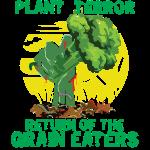 Plant Terror Vegan Zombie