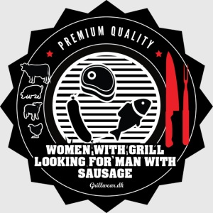 WOMEN WITH GRILL LOOKING FOR MAN SAUSAGE