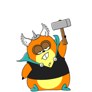 Hamsthor (whiteline)