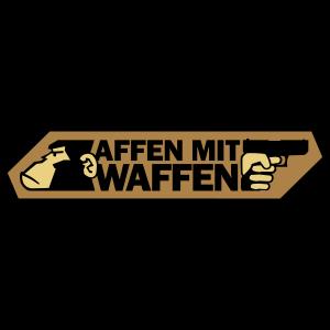Affen mit Waffen - Logo