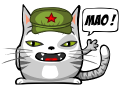 Motif Chat Mao
