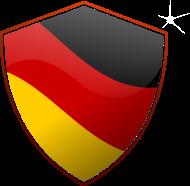 Fan-Shirt: Deutschland Emblem (DDP)