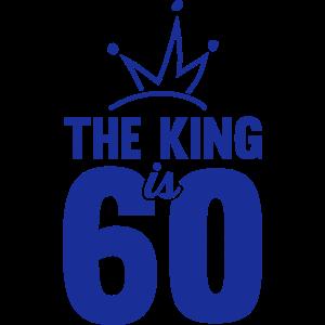 ZUM 60 GEBURTSTAG, THE KING IS 60