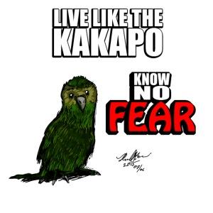 Live like the Kakapo