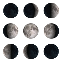 Mondphasen Moon Phases