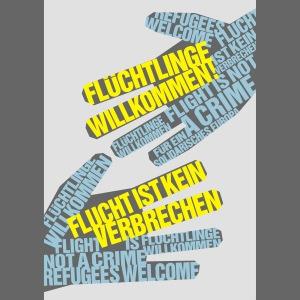 Flüchtlinge Willkommen w