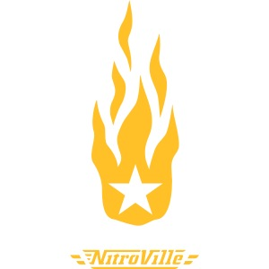 Nitroville band t-shirt > firebrand version