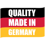 Quality made in Germany | Deutschland | Fahne | Flagge