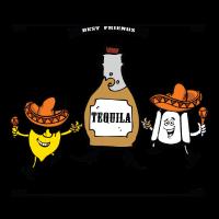 Alkohol Funshirt - Tequila beste Freunde für immer
