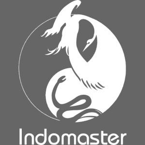 indomaster logo white