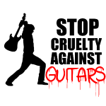Stop Cruelty Against Guitars #1