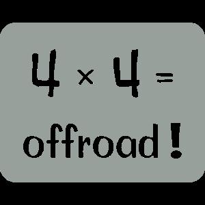 4x4=offroad