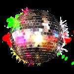 Disco ball glitter Demidesign