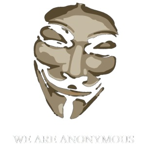 Anonymous Mask Comicstyle