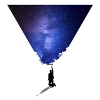 Milkyway Hipster Triangle