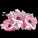 Zum Geburtstag pink Rosen