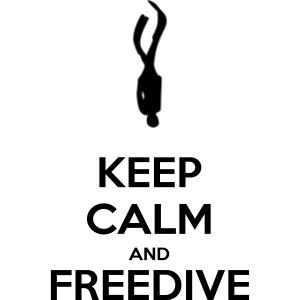 Keep calm and freedive