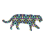 Jaguar Kaleidoscope Design 1