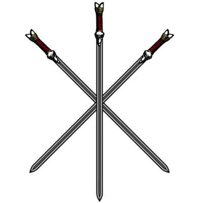 Gekreuzte Schwerter - 3 gekreutzte Schwerter - youtube,s,Paddy