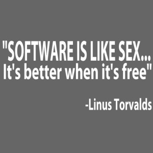 Free Software Sexy