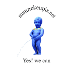 YES WE CAN mannekenpis