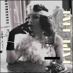 TAPE FIVE flapper girl