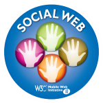 sticker social web