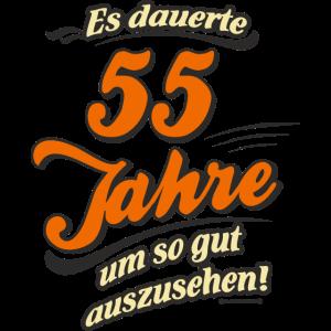 Geburtstag es dauerte 55 Jahre RAHMENLOS®