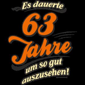 Geburtstag es dauerte 63 Jahre RAHMENLOS®