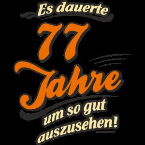Geburtstag es dauerte 77 Jahre RAHMENLOS®