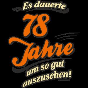 Geburtstag es dauerte 78 Jahre RAHMENLOS®