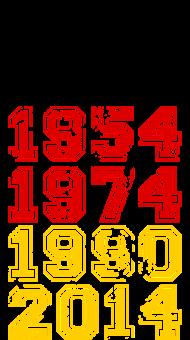 Fan-Shirt: Weltmeister 2014
