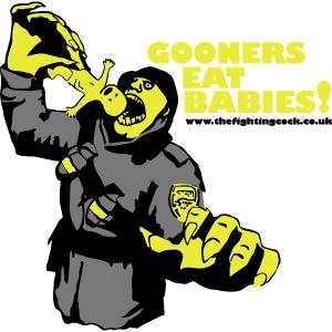 Gooners eat babies
