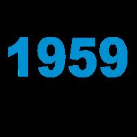 Geburtstag Jahrgang-Shirt 1959