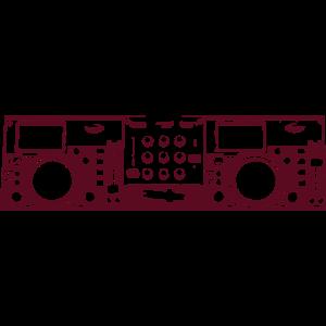 DJ Console Mixer