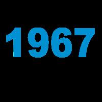 Geburtstag Jahrgang-Shirt 1967