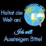 Logo Spruch blau