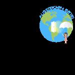 Logo Spruch schwarz