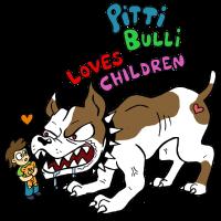 Pittibulli loves Children