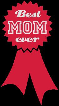 Muttertag Shirt: Best Mom ever | Distinction | Auszeichnung