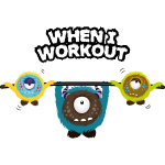 When I workout Monster