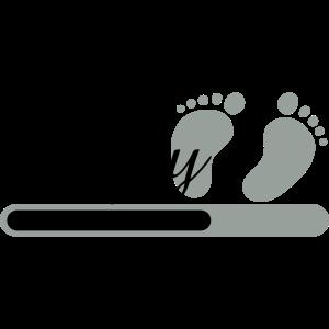 Baby loading / Schwangerschaft Ladebalken